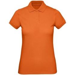 textil Dame Skjorter / Skjortebluser B&c B260F Urban Orange