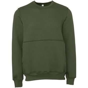 textil Sweatshirts Bella + Canvas BE133 Military Green