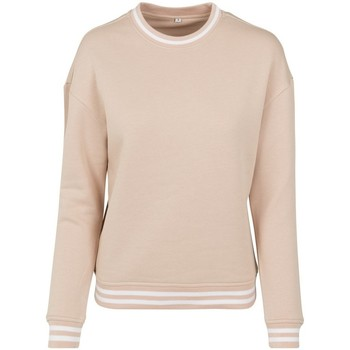 textil Dame Sweatshirts Build Your Brand BY105 Light Pink/White
