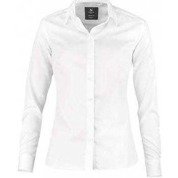 textil Dame Skjorter / Skjortebluser Nimbus N101F White