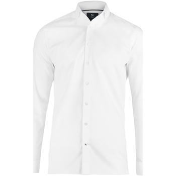 textil Herre Skjorter m. lange ærmer Nimbus N102M White
