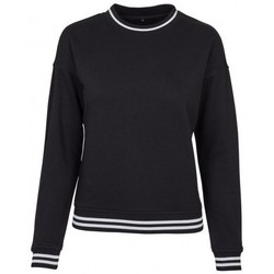 textil Dame Sweatshirts Build Your Brand BY105 Black/White