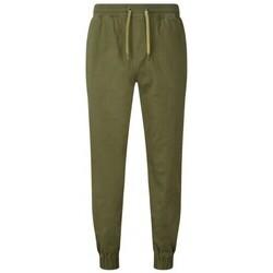 textil Herre Træningsbukser Asquith & Fox AQ055 Olive