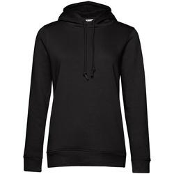 textil Dame Sweatshirts B&c  Black