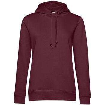 textil Dame Sweatshirts B&c  Burgundy