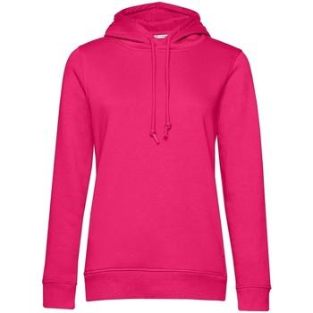 textil Dame Sweatshirts B&c  Magenta
