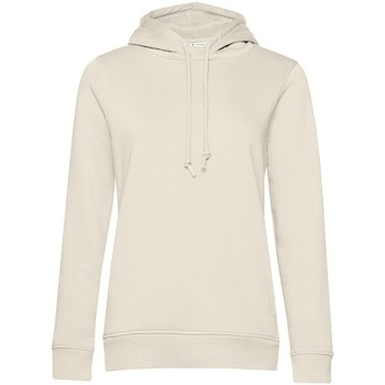 textil Dame Sweatshirts B&c  Off White