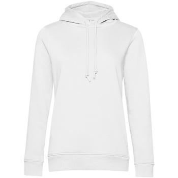 textil Dame Sweatshirts B&c  White