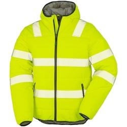 textil Herre Jakker Result Genuine Recycled R500X Fluorescent Yellow