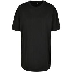 textil Dame T-shirts m. korte ærmer Build Your Brand BY149 Black