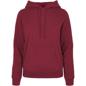 textil Dame Sweatshirts Build Your Brand BB007 Burgundy