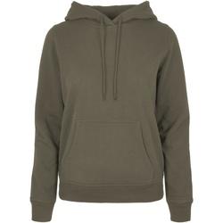 textil Dame Sweatshirts Build Your Brand BB007 Olive