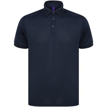 textil Polo-t-shirts m. korte ærmer Henbury HB465 Navy