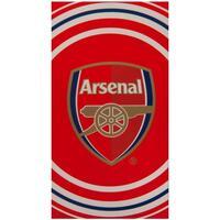 Indretning Håndklæde og badehandske Arsenal Fc TA1029 Red