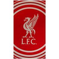 Indretning Håndklæde og badehandske Liverpool Fc TA1036 Red/White