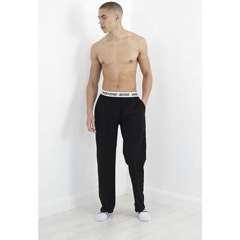 textil Herre Pyjamas / Natskjorte Brave Soul  Black