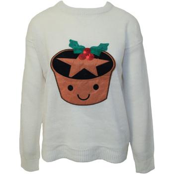 textil Dame Sweatshirts Brave Soul  Cream