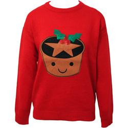 textil Dame Sweatshirts Brave Soul  Red
