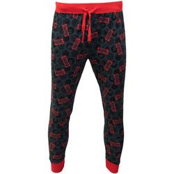 textil Herre Pyjamas / Natskjorte Marvel  Red/Grey