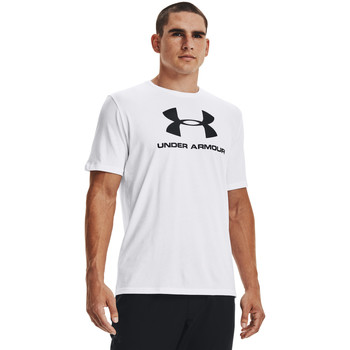 textil Herre Toppe / T-shirts uden ærmer Under Armour Ua Sportstyle Logo Hvid