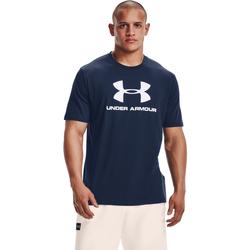textil Herre Polo-t-shirts m. korte ærmer Under Armour Ua Sportstyle Logo Blå