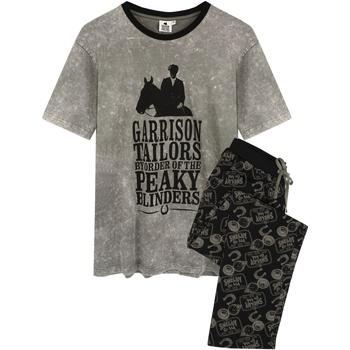 textil Herre Pyjamas / Natskjorte Peaky Blinders  Grey/Black