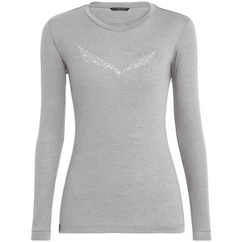 Langærmede T-shirts Salewa  Solidlogo Dry W L/S Tee 27341-0624