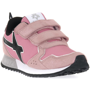 Sko Pige Sneakers W6yz 0M03 JET VL J GLITTER ROSE Rosa
