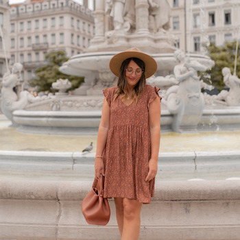 textil Dame Korte kjoler Céleste DAHLIA Flerfarvet