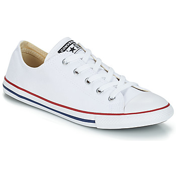 Sko Dame Lave sneakers Converse ALL STAR DAINTY OX Hvid / Rød