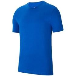textil Dreng T-shirts m. korte ærmer Nike JR Park 20 Blå