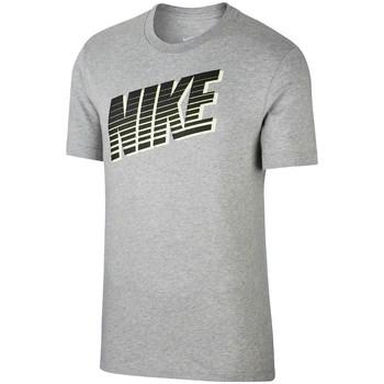 textil Herre T-shirts m. korte ærmer Nike Sportswear Tee Block Grå
