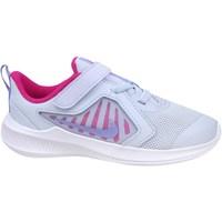 Sko Børn Lave sneakers Nike Downshifter 10 Hvid