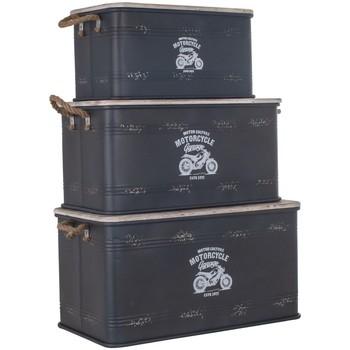 Indretning Kufferter og opbevaringskister Signes Grimalt Kasse Set Med 3 U Negro