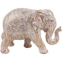 Indretning Små statuer og figurer Signes Grimalt Elefantfigur Blanco