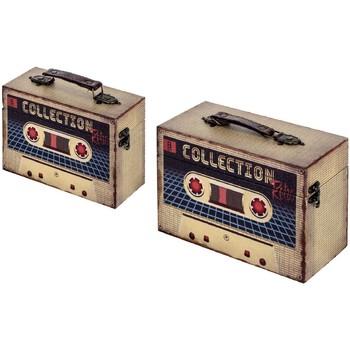 Indretning Kufferter og opbevaringskister Signes Grimalt Kasser Set 2 U Beige