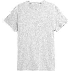textil Herre T-shirts m. korte ærmer 4F TSM352 Grå