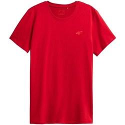 textil Herre T-shirts m. korte ærmer 4F TSM352 Rød