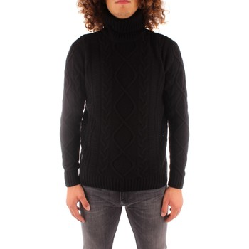 textil Herre Pullovere Blauer 21WBLUM04142006088 BLACK