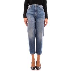 textil Dame Jeans - boyfriend Manila Grace J414D6 BLUE