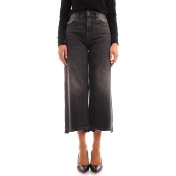 textil Dame Jeans - 3/4 & 7/8 Manila Grace J417D1 BLACK