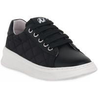 Sko Pige Lave sneakers Naturino A01 NIXOM PLATINO Nero