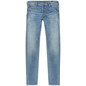 textil Herre Smalle jeans Le Temps des Cerises Pantalon Jeans slim  Basic 700/11 bleu jean