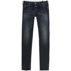 textil Herre Smalle jeans Le Temps des Cerises Pantalon Jeans slim  Gawler 700/11 bleu/noir