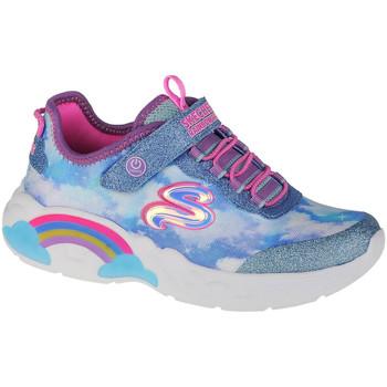 Sko Pige Lave sneakers Skechers Rainbow Racer Blå