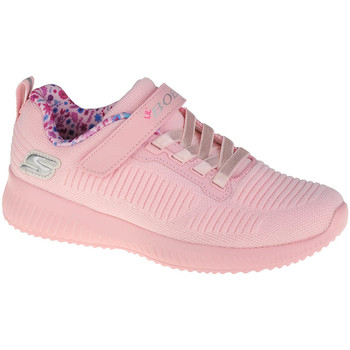 Sko Pige Lave sneakers Skechers Bobs Squad-Charm League Pink