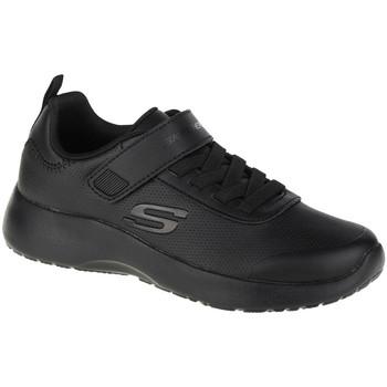 Sko Dreng Lave sneakers Skechers Dynamight-Day School Sort