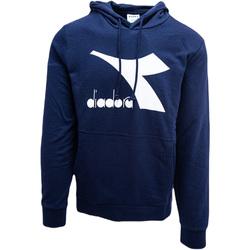 textil Herre Sweatshirts Diadora Big Logo Blå