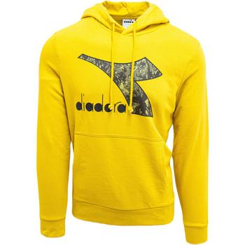 textil Herre Sweatshirts Diadora Big Logo Gul
