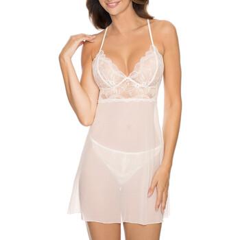 textil Dame Pyjamas / Natskjorte Gorteks CHARLIZE/K cream Beige